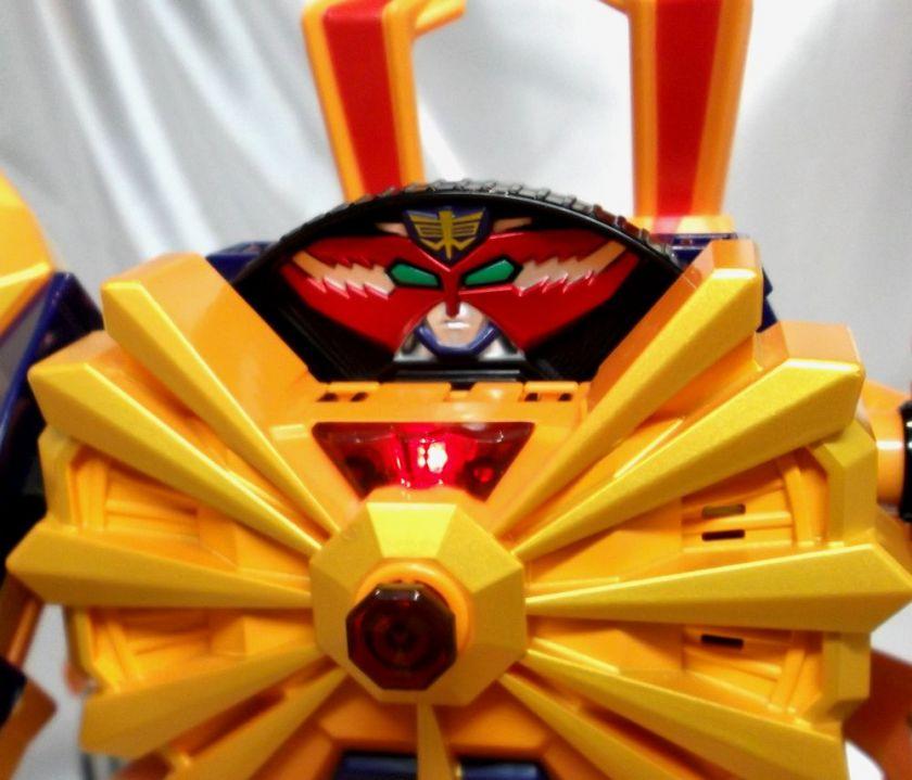 SAMURAI SENTAI SHINKENGER DAIKAIOH Claw zord BANDAI JAPAN Megazord