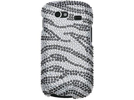 ZEBRA SILVER BLING CASE COVER SAMSUNG NEXUS S I9020