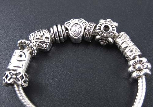 Tibetan Silver Mix Lovely Spacer Charm Beads Fit Bracelet ◆fm135
