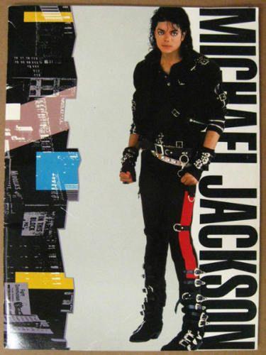 MICHAEL JACKSON Bad Tour JAPAN 1988 Concert Program