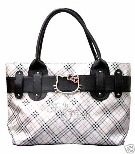 NWT Hello Kitty tote bag handbag purse
